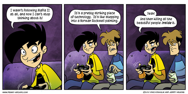 The Penny Arcade Archive Comic Created By Respondcreate